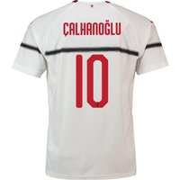 Ac Milan Away Shirt 2018-19 With Çalhanoglu 10 Printing
