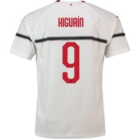 Ac Milan Away Shirt 2018-19 - Kids With Higuaín 9 Printing