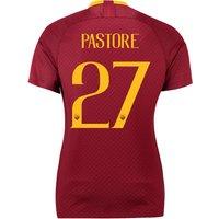 AS Roma Home Stadium Shirt 2018-19 - Womens with Pastore  27 printing