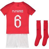 England Away Stadium Kit 2018 - Infants with McManus 6 printing