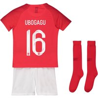 England Away Stadium Kit 2018 - Infants with Ubogagu 16 printing