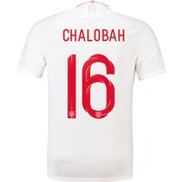 England Home Vapor Match Shirt 2018 with Chalobah 16 printing