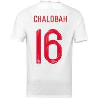 England Home Stadium Shirt 2018 with Chalobah 16 printing