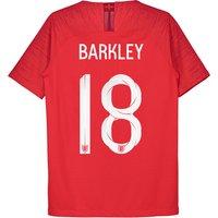 England Away Vapor Match Shirt 2018 - Kids with Barkley 8 printing