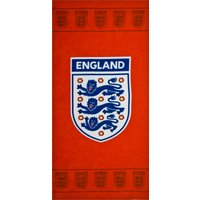 England FA Red Beach Towel