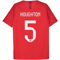 England Away Vapor Match Shirt 2018 - Kids with Houghton 5 printing
