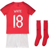 England Away Stadium Kit 2018 - Infants with White 18 printing