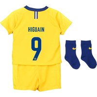Chelsea Away Cup Stadium Kit 2018-19 - Infants with Higuain 9 printing
