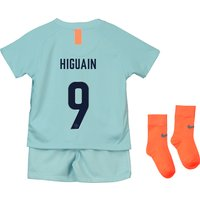 Chelsea Third Cup Stadium Kit 2018-19 - Infants with Higuain 9 printing