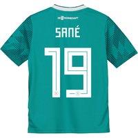 Germany Away Shirt 2018 - Kids with Sané 19 printing