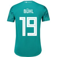 Germany Authentic Away Shirt 2018 with Bühl 32 printing
