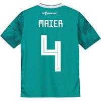 Germany Away Shirt 2018 - Kids with Maier 4 printing