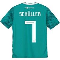 Germany Away Shirt 2018 - Kids with Schüller 7 printing