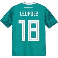 Germany Away Shirt 2018 - Kids with Leupolz 18 printing