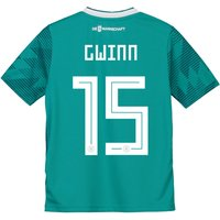 Germany Away Shirt 2018 - Kids with Gwinn 24 printing