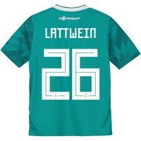 Germany Away Shirt 2018 - Kids with Lattwein 26 printing