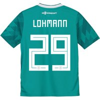 Germany Away Shirt 2018 - Kids with Lohmann 29 printing