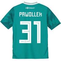 Germany Away Shirt 2018 - Kids with Pawollek 31 printing