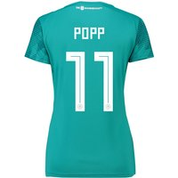 Germany Away Shirt 2018 - Womens with Popp 11 printing
