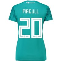 Germany Away Shirt 2018 - Womens with Magull 20 printing