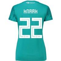 Germany Away Shirt 2018 - Womens with Knaak 22 printing