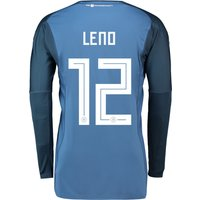 Germany Home Goalkeeper Shirt 2018 with Leno 12 printing
