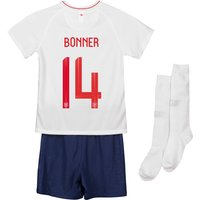 England Home Stadium Kit 2018 - Infants with Bonner 14 printing