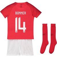 England Away Stadium Kit 2018 - Infants with Bonner 14 printing