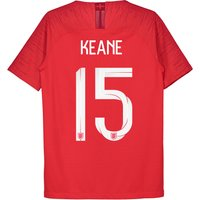 England Away Vapor Match Shirt 2018 - Kids with Keane 5 printing