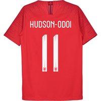 England Away Vapor Match Shirt 2018 - Kids with Hudson-Odoi 11 printing