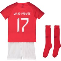 England Away Stadium Kit 2018 - Infants with Ward-Prowse 17 printing