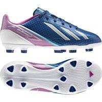 Adidas Adizero F30 Trx Firm Ground Football Boots - Dark Blue/white/vivid Pink - Kids