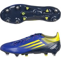 Adidas Adizero Rs7 Pro Xtrx Iii Soft Ground Rugby Boots - Blaze Blue Met/vivid Yellow/urban Sky