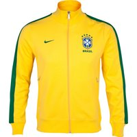 Brazil Authentic N98 Track Jacket - Varsity Maize/Pine Green/Pine Green
