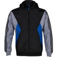 Adidas Oringinals Teorado Reversible Windbreaker - Black/tech Grey/true Blue