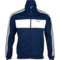adidas Originals Sport Beckenbauer Track Top - Dark Indigo/White