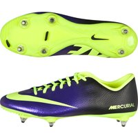 Nike Mercurial Victory Iv Soft Ground Football Boots - Electro Purple/Volt/Black Purple