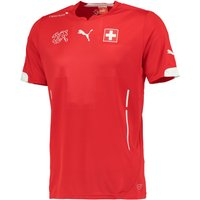Switzerland Home Shirt 2014/15