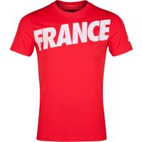 France Covert T-Shirt Red