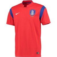 South Korea Home Shirt 2014 Red Red