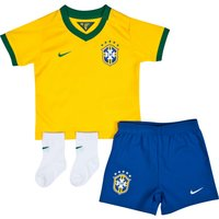 Brazil Home Kit - Infants Yellow 2013/14