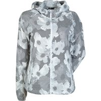 Nike Printed Distance Jacket Womens White