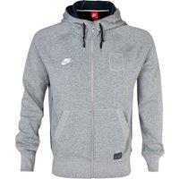 Nike AW77 GF FZ Hoody Dk Grey
