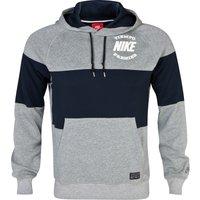Nike AW77 GF Graphic Hoody Dk Grey