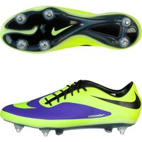 Nike Hypervenom Phatal Soft Ground Football Boots - Electro Purple/Volt/Black Purple