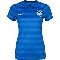 Brazil Away Shirt Womens Royal Blue 2014