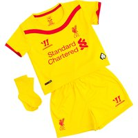 Liverpool Away Baby Kit 2014/15