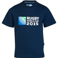 Canterbury Rugby World Cup 2015 Logo T-Shirt - Kids Navy