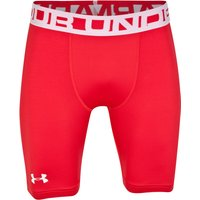 Under Armour Evo Coldgear Baselayer Shorts Red