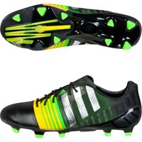 Adidas Nitrocharge 1.0 Firm Ground Football Boots Black